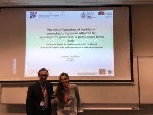 Prof Marco Bellandi & Dr Erica Santini - ERSA 2017